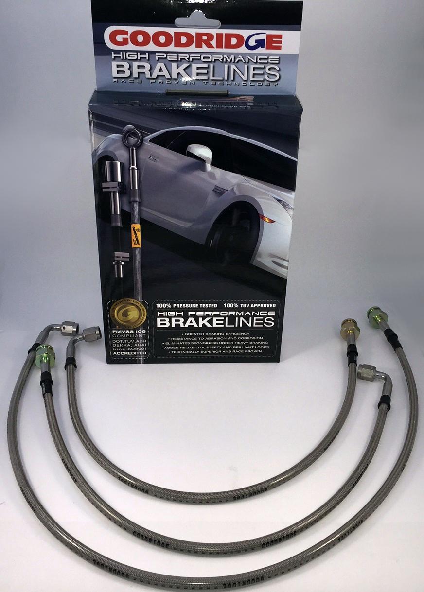 Goodridge - sada pancéřových brzdových hadiček - Opel Kadett B (vpředu kotouče)