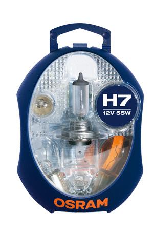 Osram halogenová žárovka, MINIBOX, H7, 12V, CLKM H7