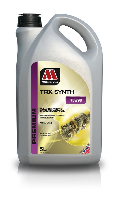 Převodový olej MILLERS OILS PREMIUM TRX Synth 75w90 – 5 l