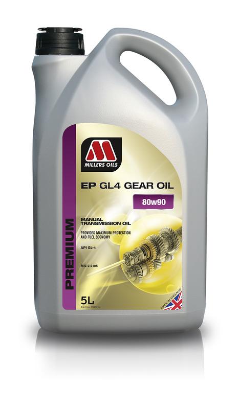 Převodový olej MILLERS OILS PREMIUM EP 80w90 – 5 l