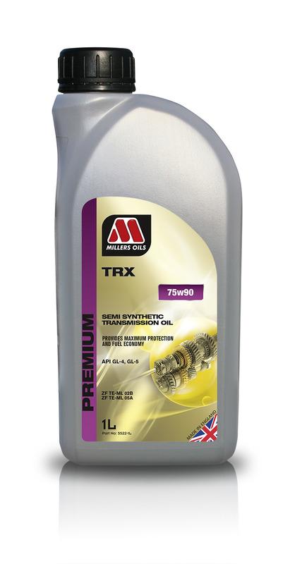 Převodový olej MILLERS OIL SPREMIUM TRX 75w90 – 1 l