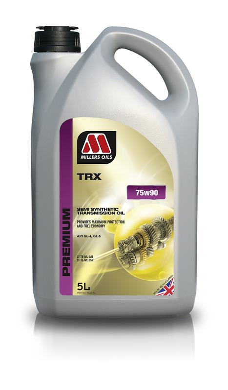 Převodový olej MILLERS OIL SPREMIUM TRX 75w90 – 5 l