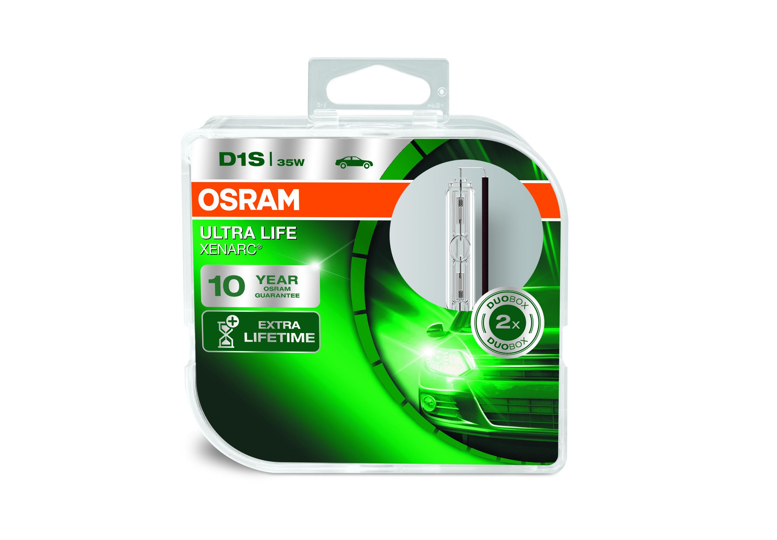 Osram Xenonová výbojka, XENARC ULTRALIFE, D1S, PK32d-2, 12/24V, 35W, 66140ULT-HCB
