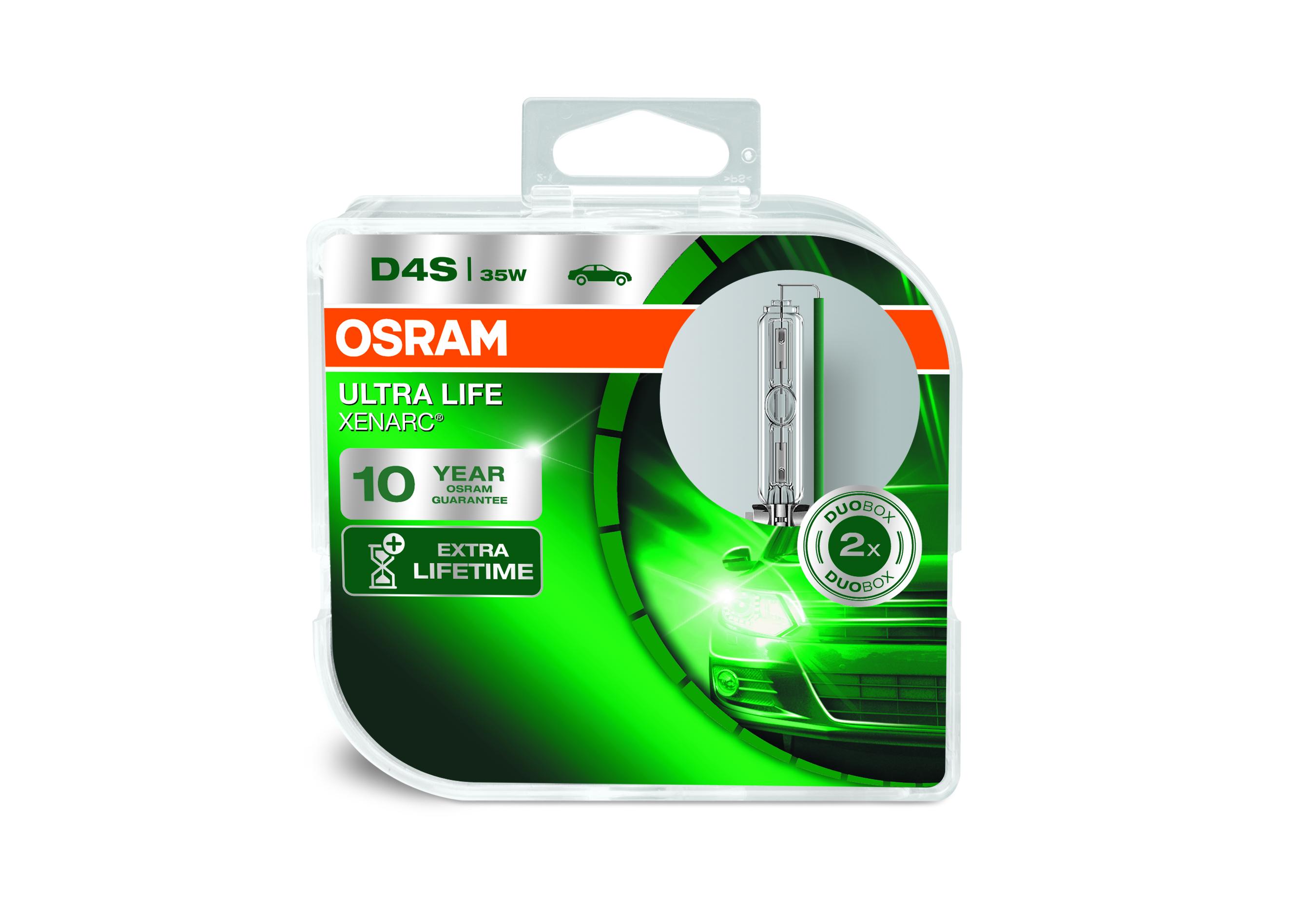 Osram Xenonová výbojka, XENARC ULTRALIFE, D4S, P32d-5, 12/24V, 35W, 66440ULT-HCB