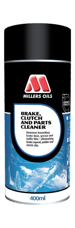 MILLERS OILS Brake and Clutch Cleaner – sprej 400 ml