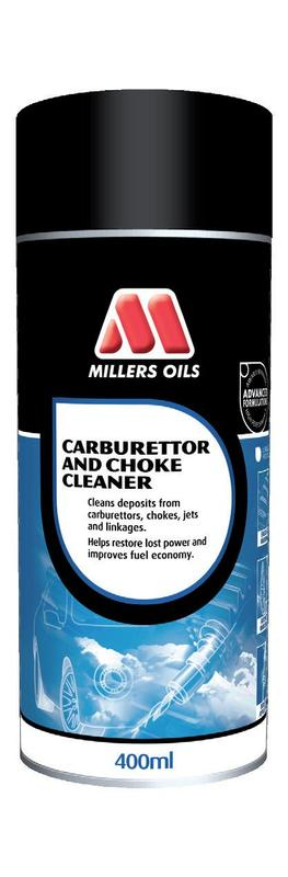 MILLERS OILS Carburettor and Choke Cleaner – sprej 400 ml