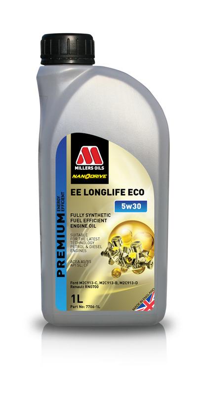 Motorový olej MILLERS OILS NANODRIVE EE Longlife ECO 5w30 - 1 l