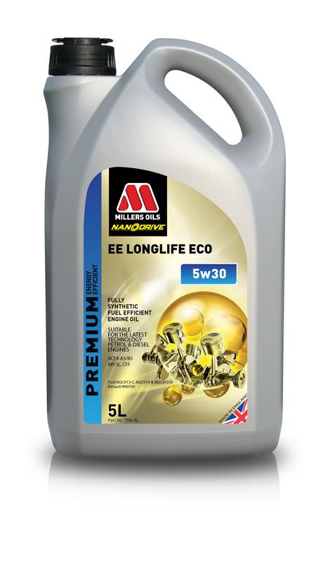 Motorový olej MILLERS OILS NANODRIVE EE Longlife ECO 5w30 – 5 l