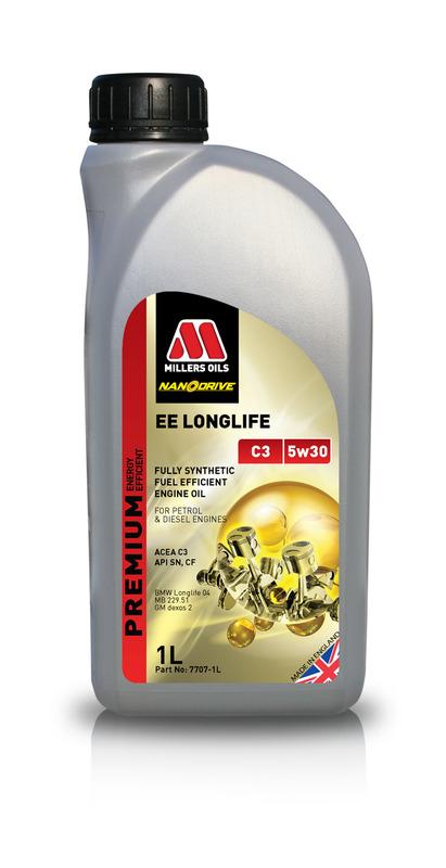 Motorový olej MILLERS OILS NANODRIVE EE Longlife C3 5w30 - 1 l
