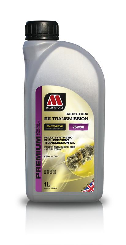 Převodový olej MILLERS OILS NANODRIVE EE Transmission Oil 75w90 – 1 l