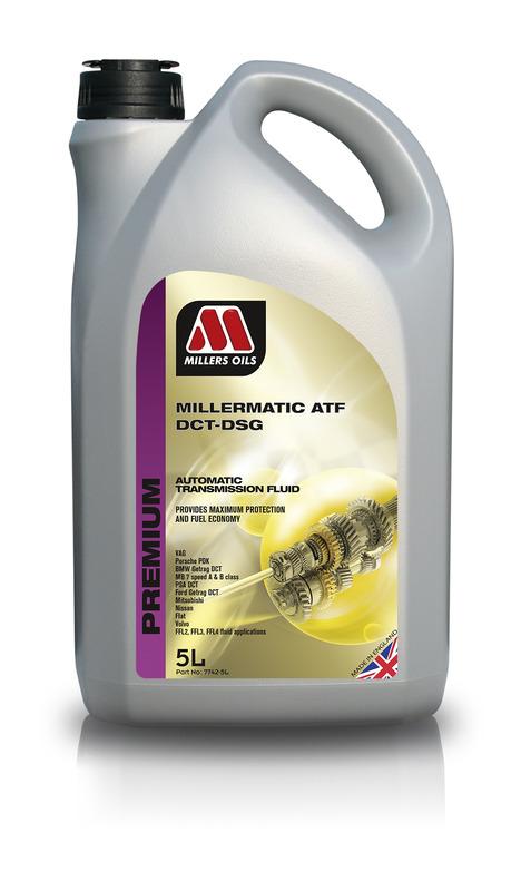 Převodový olej MILLERS OILS PREMIUM Millermatic ATF DCT-DSG – 5 l