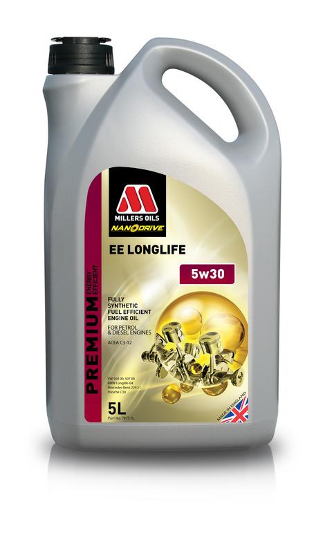 Motorový olej MILLERS OILS NANODRIVE EE Longlife 5w30 – 5 l