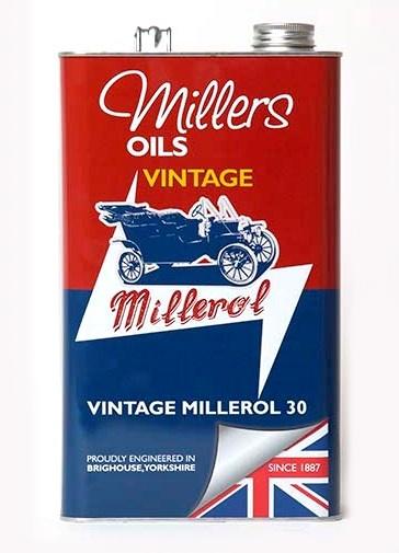 Jednorozsahový olej MILLERS OILS Vintage Millerol 30 – 5 l