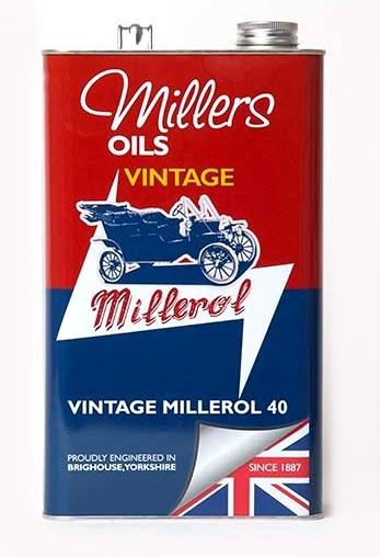 Jednorozsahový olej MILLERS OILS Vintage Millerol 40 – 5 l