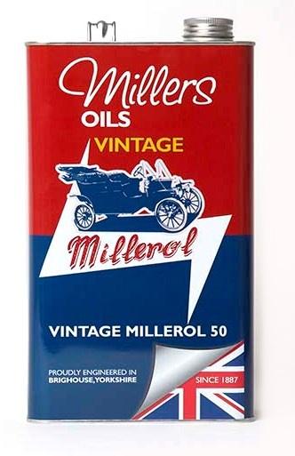 Jednorozsahový olej MILLERS OILS Vintage Millerol 50 – 5 l