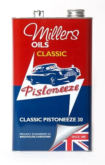 Motorový olej MILLERS OILS Classic Pistoneeze 30 – 5 l