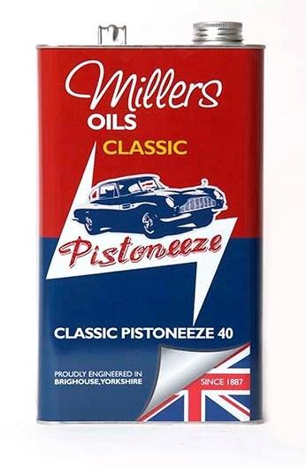 Motorový olej MILLERS OILS Classic Pistoneeze 40 – 5 l