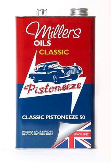 Motorový olej MILLERS OILS Classic Pistoneeze 50 - 5 l