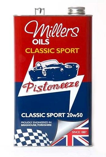 Motorový olej MILLERS OILS Classic Sport 20w50 – 5 l