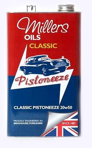 Motorový olej MILLERS OILS Classic Pistoneeze 20w50 – 5 l