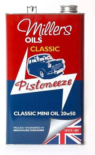 Minerální olej MILLERS OILS Classic Mini Oil 20w50 – 5 l