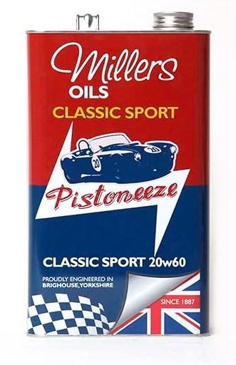 Motorový olej MILLERS OILS Classic Sport 20w60, 5 l