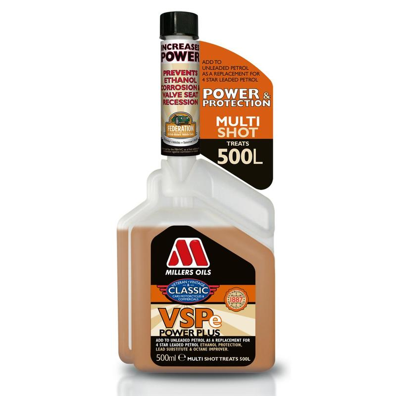 MILLERS OILS VSPe Power Plus Multishot – 500 ml