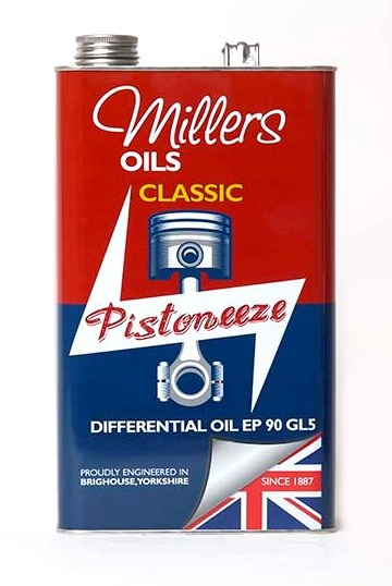 Převodový olej MILLERS OILS Classic Differential Oil EP 90 GL5 – 5 l