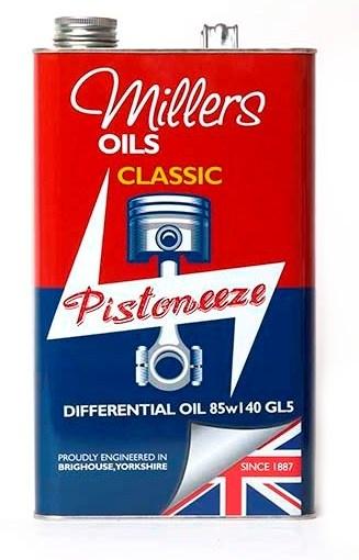 Převodový olej MILLERS OILS Classic Differential Oil EP 85w140 GL5 – 5 l