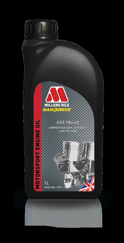 Motorový olej MILLERS OILS CSS 10w40, 1 l (Polosyntetický motorový olej pro sportovní použití )