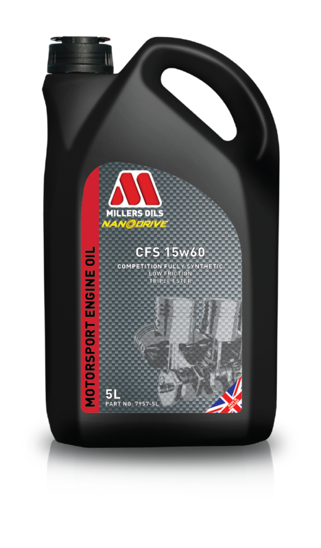 Motorový olej MILLERS OILS CFS 15w60, 5 l