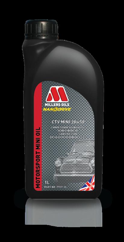 Motorový olej MILLERS OILS CTV Mini 20w50, 1 l