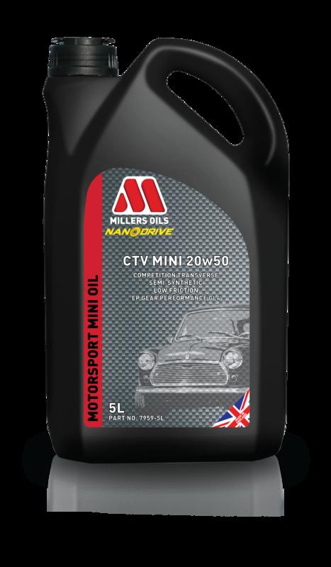 Motorový olej MILLERS OILS CTV Mini 20w50, 5 l