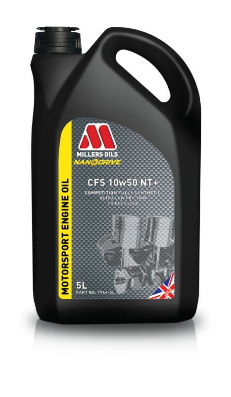 Motorový olej MILLERS OILS NANODRIVE CFS 10w50 NT+, 5 l