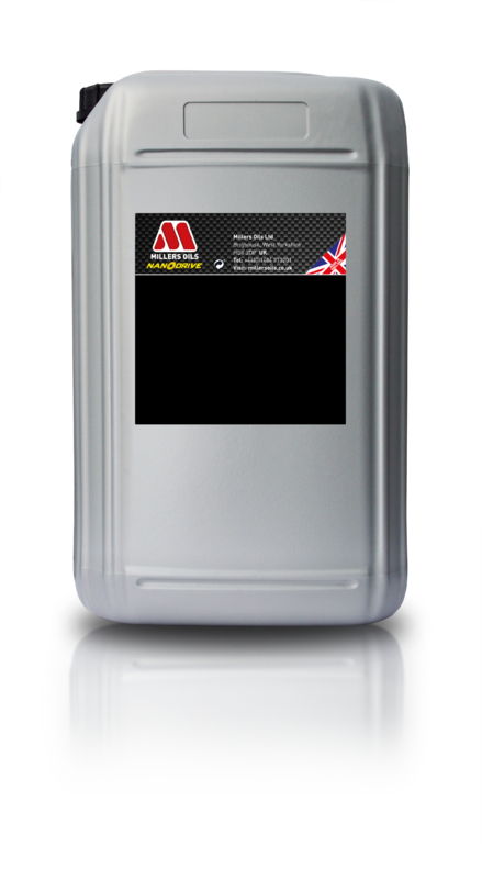 Motorový olej MILLERS OILS NANODRIVE CFS 10w60 NT+, 25 l (Plně syntetický motorový olej, základové oleje PAO a 3estery, ZDDP - přesahuje kritéria norem API SM, CF a ACEA A3/B4)