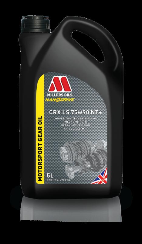 Převodový olej MILLERS OILS NANODRIVE CRX LS 75w90 NT+, 5 l
