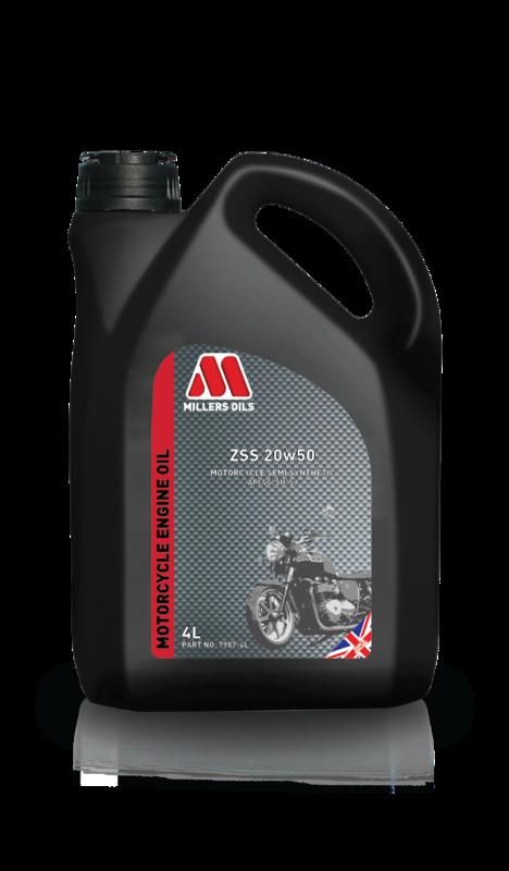 Motorový olej MILLERS OILS ZSS 20w50, 4 l