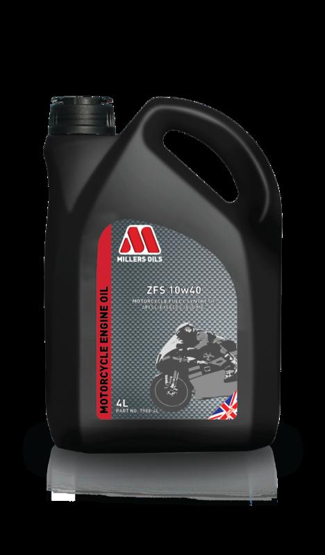 Motorový olej MILLERS OILS ZFS 10w40, 4 l