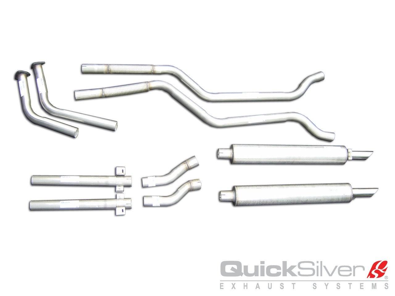 QuickSilver Exhausts Heritage | Aston Martin DBS - 6 Vantage, 1967-72, AS008 (Výfukový systém – nerezová ocel)