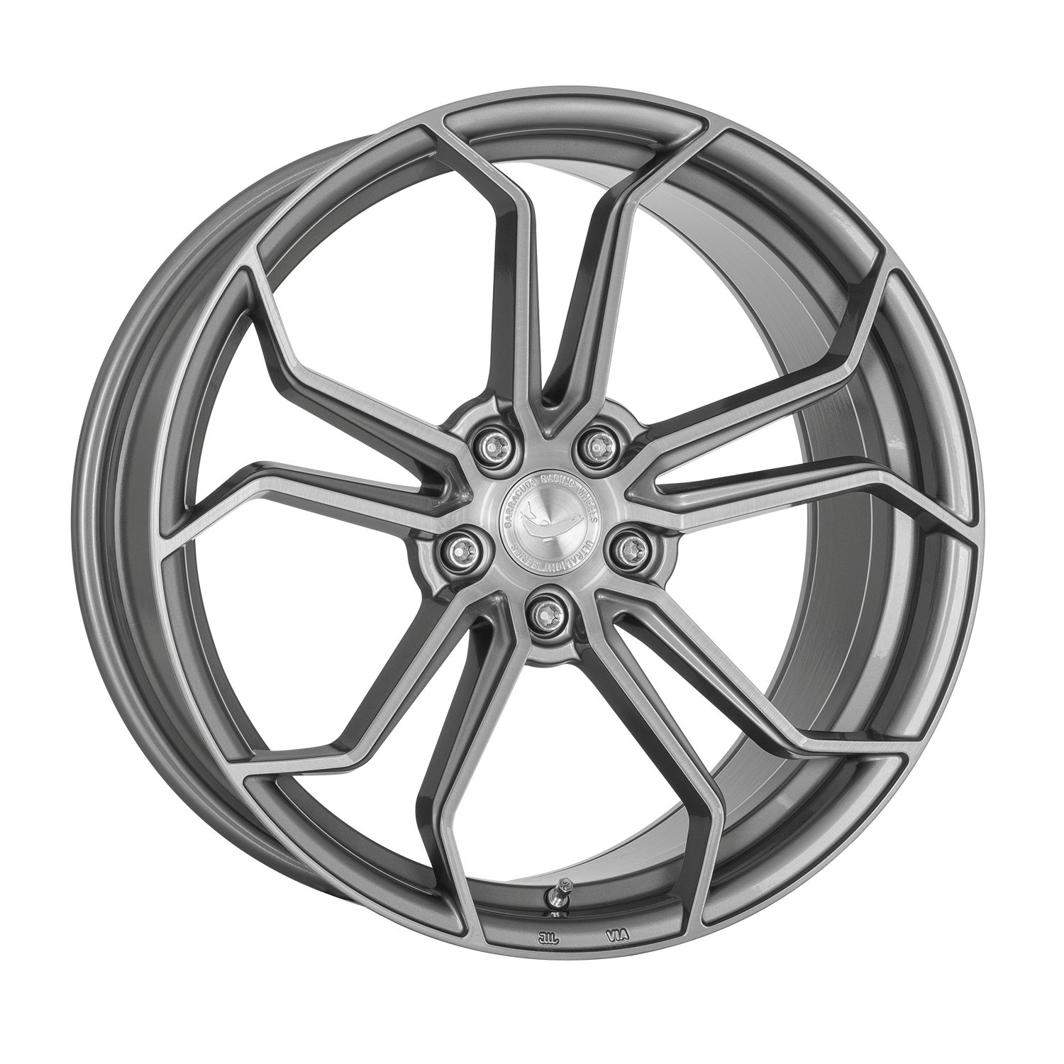 BARRACUDA ULTRALIGHT PROJECT 1.0 Silver brushed - 8,5x20 / 5x108 / ET45, RHPRO185045N/SBS