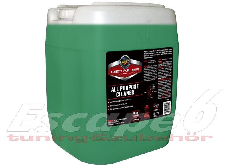 Meguiar's All Purpose Cleaner 18,92 l – nejoblíbenější profesionální víceúčelový čistič