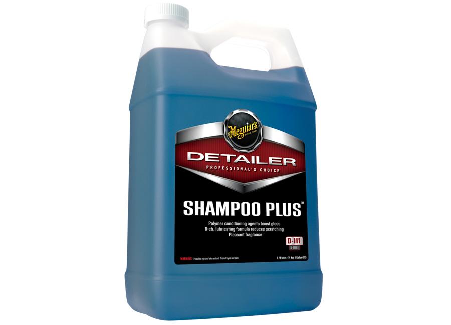 Meguiar's Shampoo Plus 3,78 l - prvotřídní profesionální autošampon (Hýčkejte si i Vy svůj vůz špičkovou kvalitní autokosmetikou od Meguiar's - jedničky amerického trhu!)