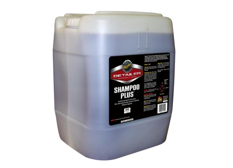 Meguiar's Shampoo Plus 18,93 l - prvotřídní profesionální autošampon (Hýčkejte si i Vy svůj vůz špičkovou kvalitní autokosmetikou od Meguiar's - jedničky amerického trhu!)
