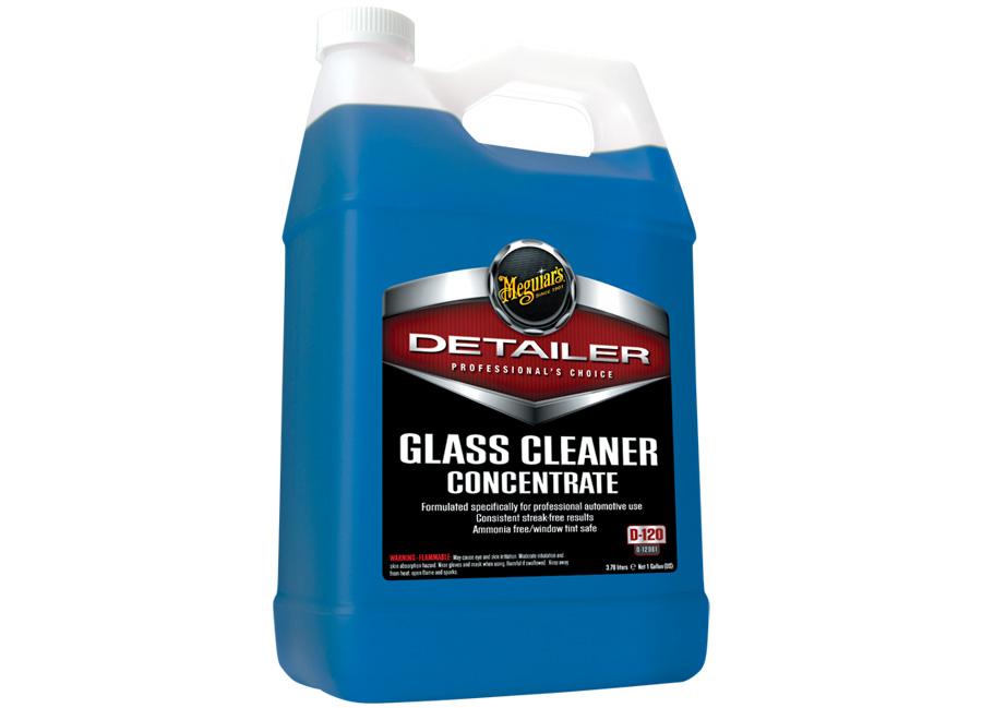 Meguiar's Glass Cleaner Concentrate 3,78 l – nejúčinnější profesinonální čistič skleněných ploch