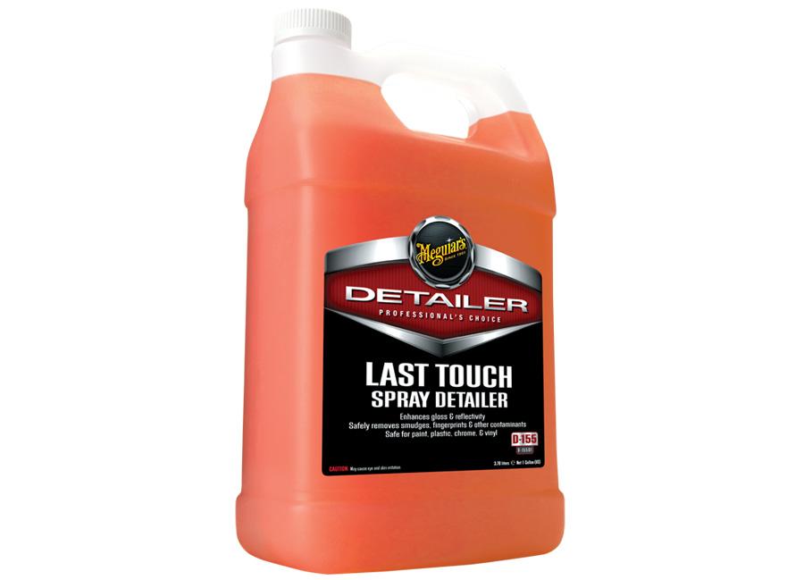 Meguiar's Last Touch Spray Detailer 3,78 l – kvalitní detailer pro odstranění lehkých nečistot, lubrikaci laku a posílení lesku (Hýčkejte si i Vy svůj vůz špičkovou kvalitní autokosmetikou od Meguiar's - jedničky amerického trhu!)