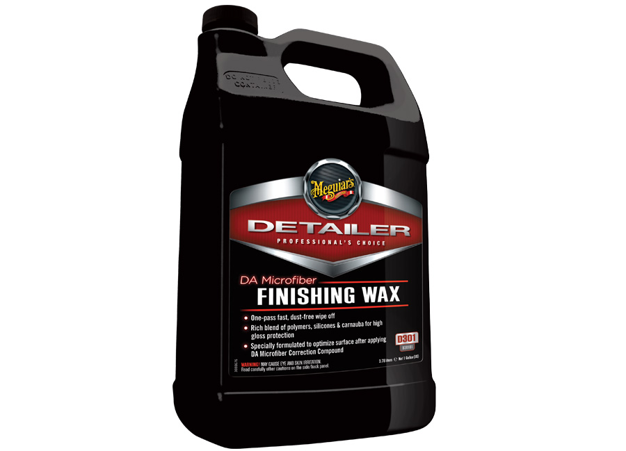 Meguiar's DA Microfiber Finishing Wax 3,78 l – finišovací vosk (Hýčkejte si i Vy svůj vůz špičkovou kvalitní autokosmetikou od Meguiar's - jedničky amerického trhu!)