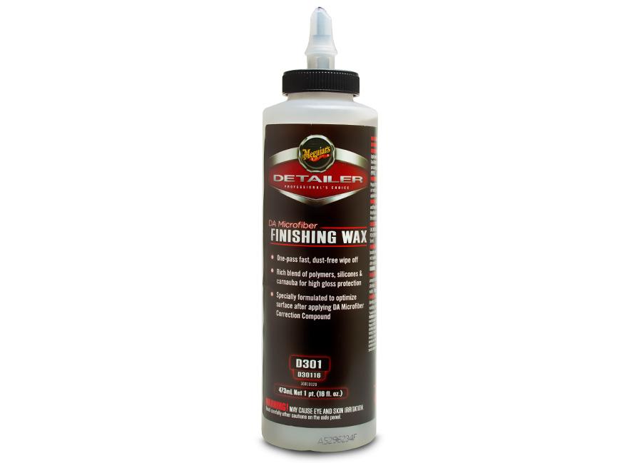 Meguiar's DA Microfiber Finishing Wax 473 ml – finišovací vosk (Hýčkejte si i Vy svůj vůz špičkovou kvalitní autokosmetikou od Meguiar's - jedničky amerického trhu!)