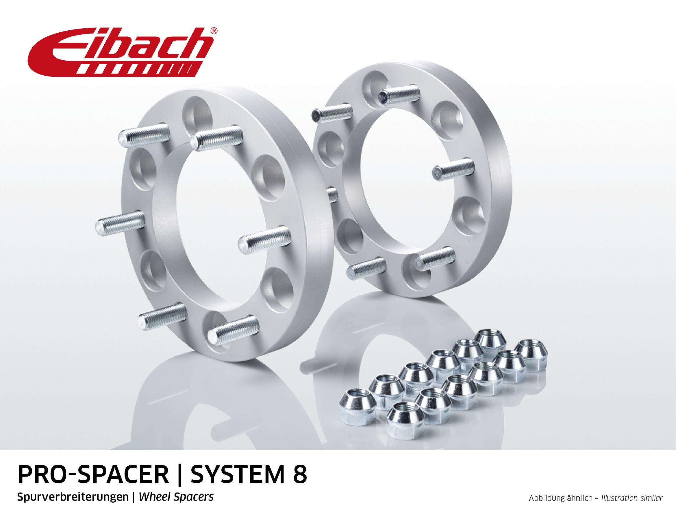 Eibach Pro-spacer silver | distanční podložky Suzuki Grand Vitara S90-8-25-006