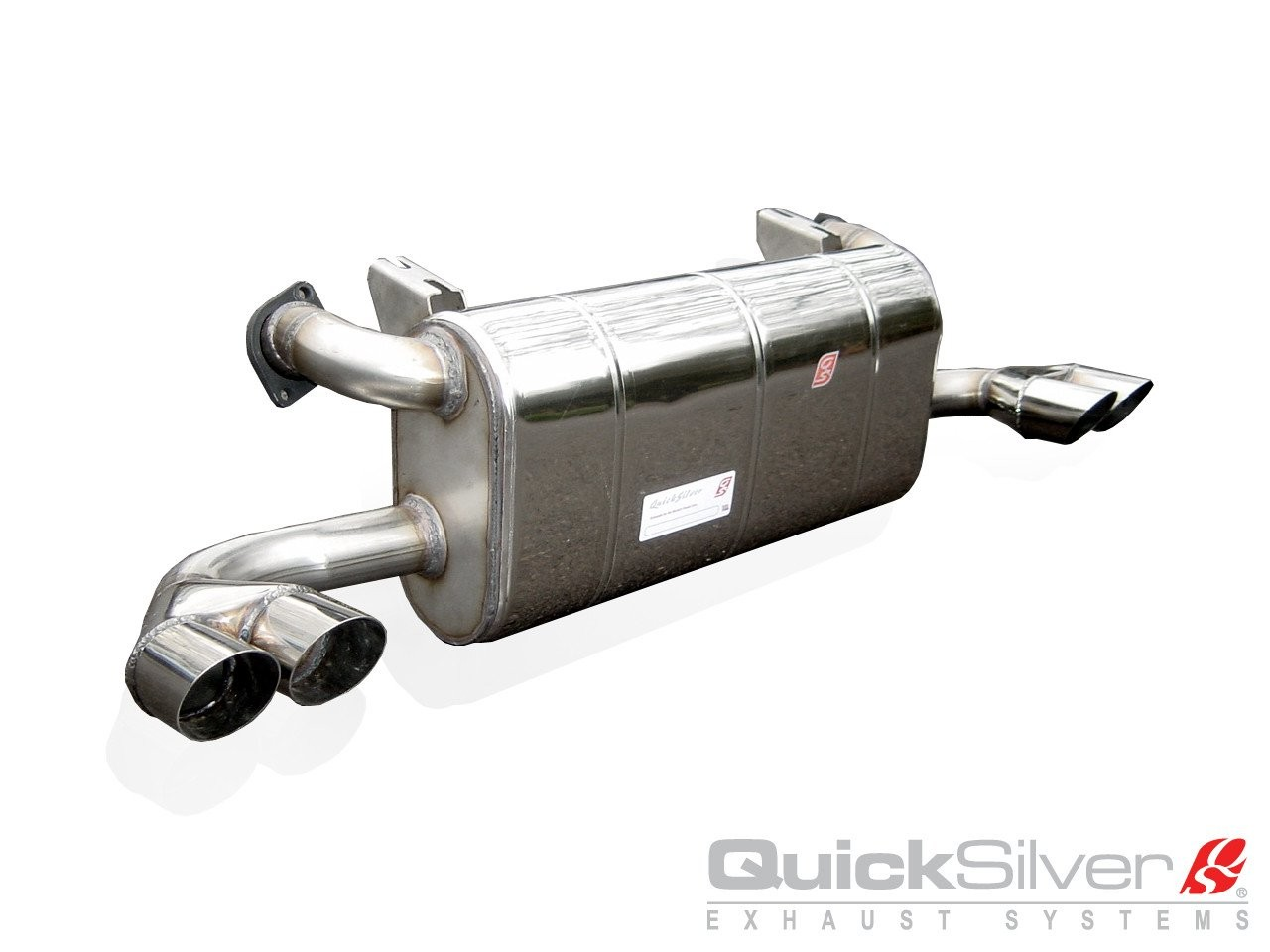 "QuickSilver Exhausts Heritage | Ferrari 348, 1990-94, FE057S (Výfukový systém ""SuperSport"")"