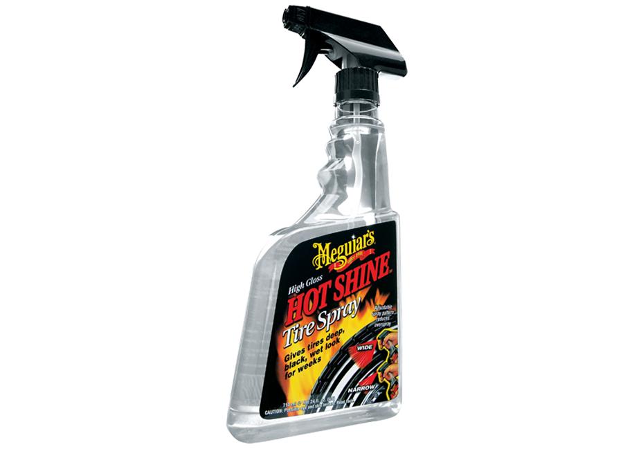 Meguiar's Hot Shine Tire Spray Trigger – výjimečný lesk na pneumatiky v rozprašovači, 710 ml